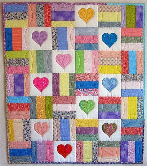 baby coverlets 25 best ideas about heart quilts on pinterest heart