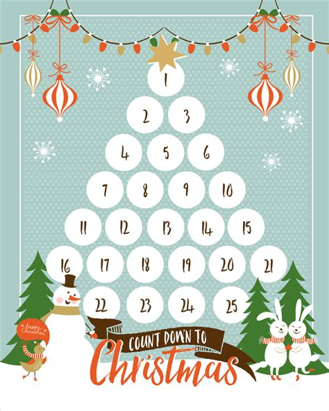 Do Calendars Count As Media Mail Free Countdown Printable And Use This