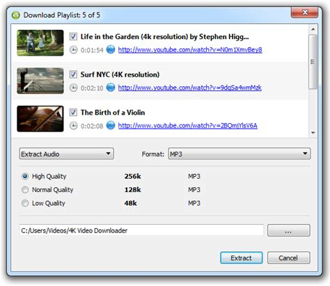 download youtube mp3 with thumbnail how to download entire youtube playlist in mp3 4k download
