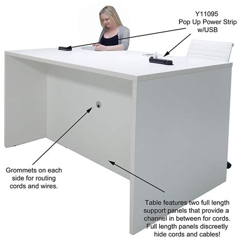 Standing Meeting Table Team Collaborative Standing Height Meeting Table