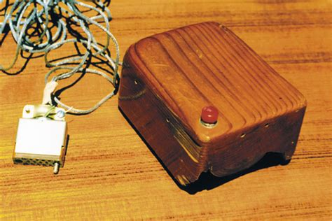 Wooden Partition Wall by Past Tech This Is The First Computer Mouse From 50 Years