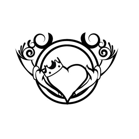 claddagh tattoo by rayfe on deviantart