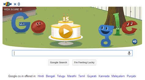 play free doodle doodle celebrates 15th birthday