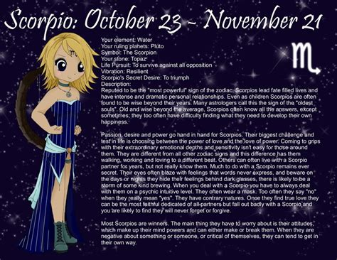 chibi astrology scorpio by aodsalice on deviantart