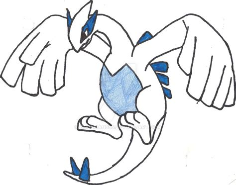 dragonair sketch by coolman666 on deviantart pokemon lugia sketch redone coloured by coolman666 on deviantart