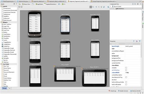 set layout manager android how to add second device in layout manager android studio