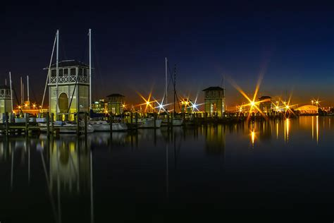 Harbour Lights by Harbor Lights Photograph By Brian Wright