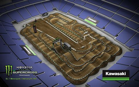 california motocross tracks map 2017 energy supercross track layouts