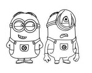 coloriage les minions dessin anim 233 224 imprimer sur coloriages
