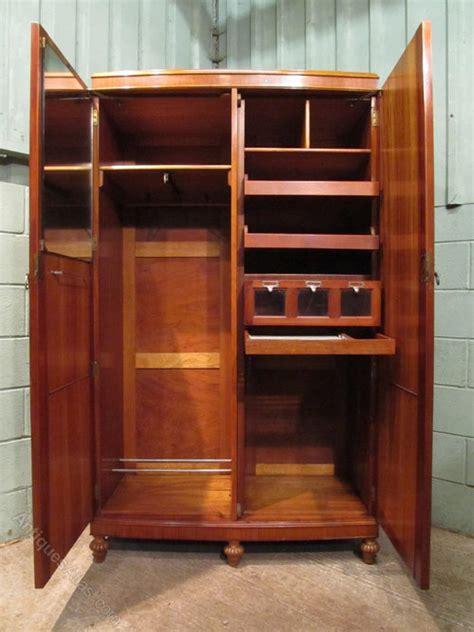 edwardian satinwood gents wardrobe compactum antiques atlas