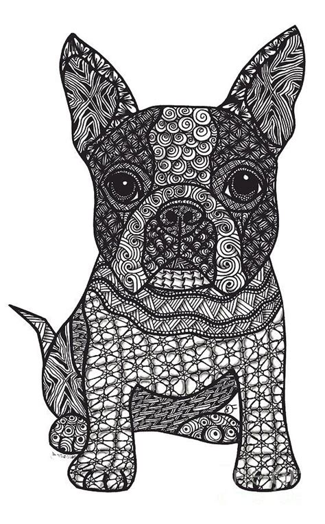 dog mandala coloring page 1000 images about zentangle art on pinterest