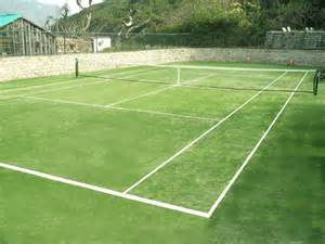 new asi court tennis grass at clearwater bay
