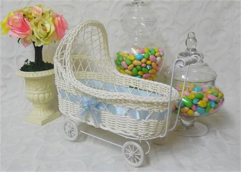 baby carriage decorations for baby shower 11 1 2 wicker baby boy carriage baby shower