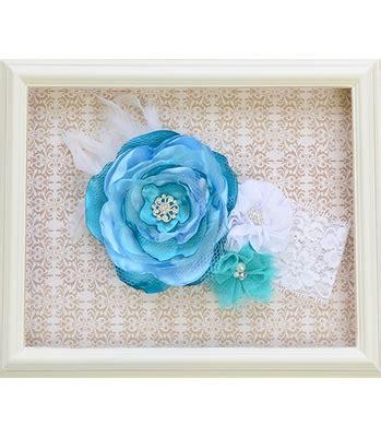 Baby Elsa Flower Blue labella flora elsa blue headband