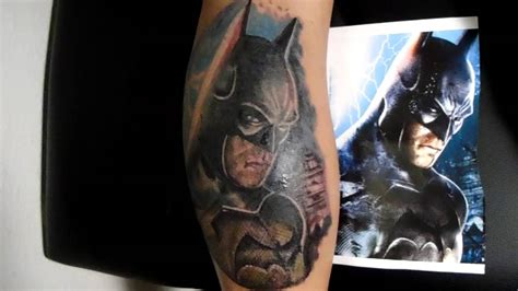 batman tattoo realistic batman tattoo realistic ivan vivas youtube