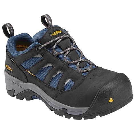 athletic work shoes composite toe waterproof athletic work shoe keen k1008301