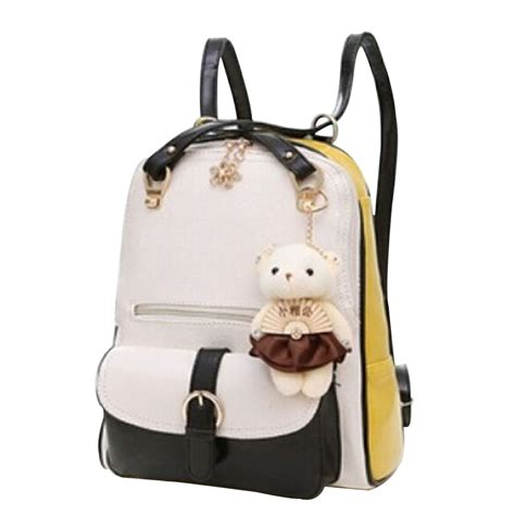 style backpacks 2015 new korean fashion backpack preppy style pu leather