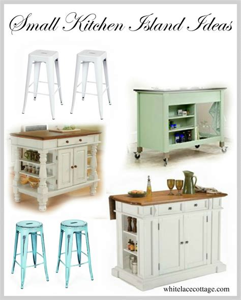 island ideas for a small kitchen small kitchen island ideas with seating white lace cottage