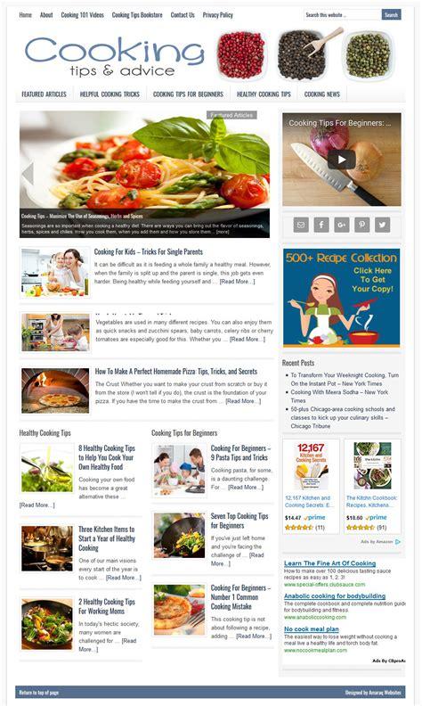 Gardening Advice Websites Cooking Tips Website Amaraq Websites