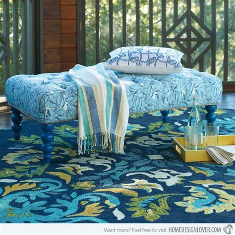 Outdoor Decorative Rugs by 18 Decorative Outdoor Area Rugs Home Design Lover