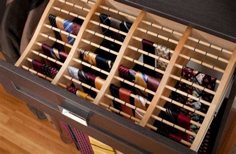 Tie Drawer by Clothes Storage Solutions That Work Well For