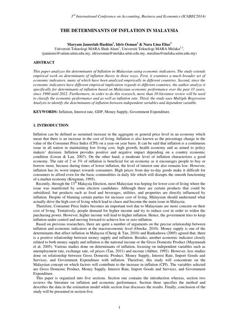 research paper on unemployment research papers on unemployment and inflation
