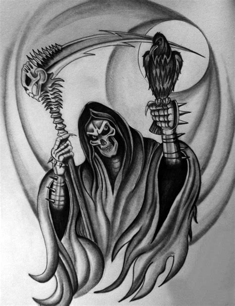 top grim reaper tattoos designs cool tattoos bonbaden