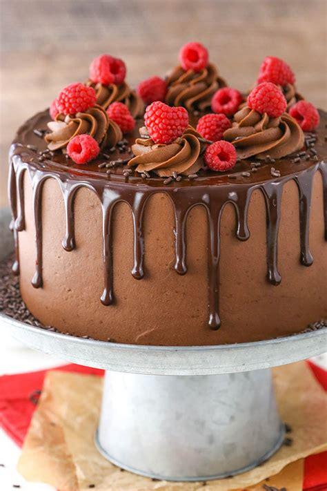 chocolate raspberry layer cake mom loves baking raspberry chocolate layer cake life love and sugar