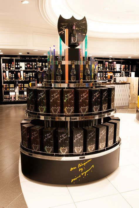 Whats Included Retail Displays For Premium Champagne Brands B Log