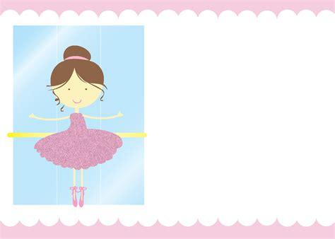 ballerina birthday card template ballerina ideas free printables catch my