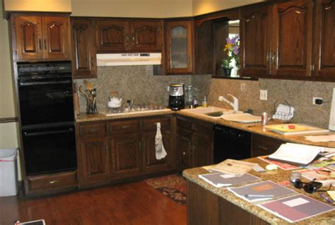 Kitchen Craftsman Geneva cabinet refacing in burr ridge kitchen craftsman