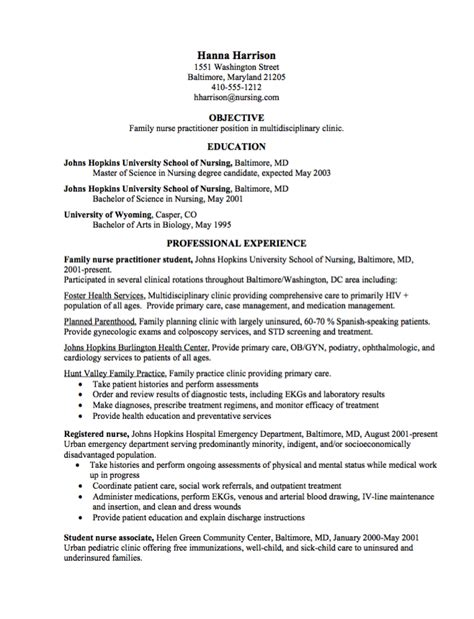 Resume Objective For Practitioner Curriculum Vitae Exles For Practitioners Resume Ixiplay Free Resume Sles
