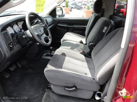 2003 Dodge Ram Interior by Slate Gray Interior 2003 Dodge Ram 1500 Slt Regular