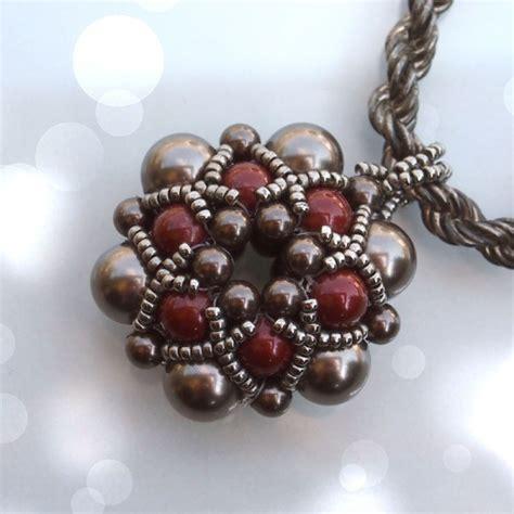 bead jewelry tutorials beading tutorial dorothy pendant beaded bead beading