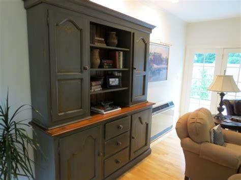 living room hutch furniture farmhouse hutch in black finish ecustomfinishes