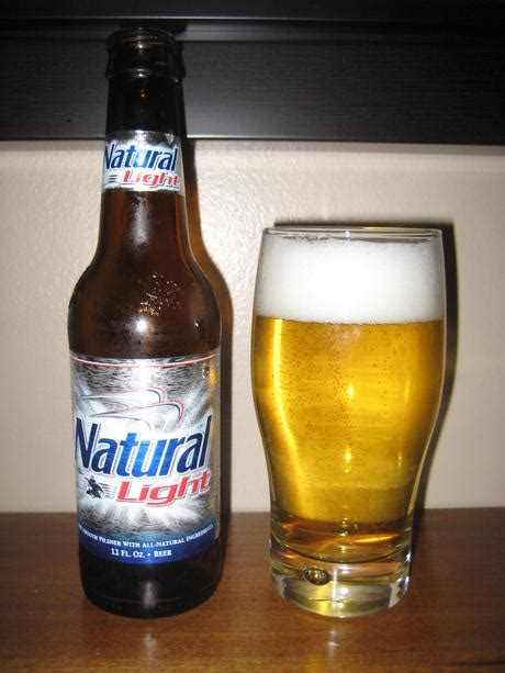 how much alcohol is in natural light beer natural light the beer taster
