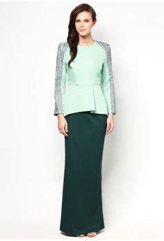 Blouse Ribbon Songket vercato nurin peplum kurung www vercato dress to