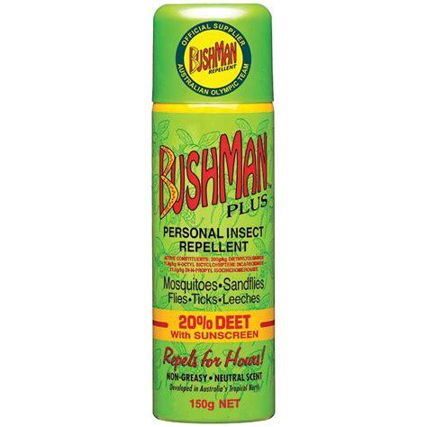 buy bushman plus 20 deet insect repellent aerosol 150g online at chemist warehouse 174