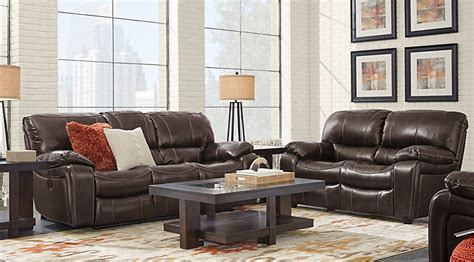 gennaro 5 pc leather sectional sofa leather living room sets furniture suites