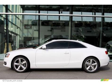 audi a5 coupe white wallpaper anh photo