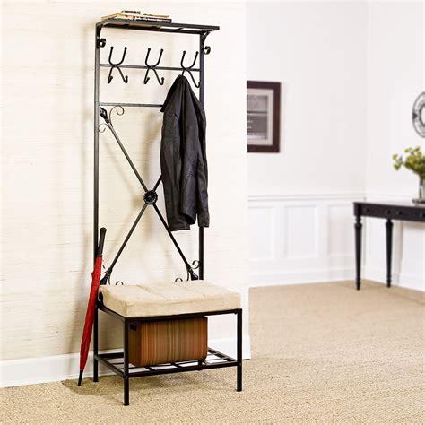 Coat Hook Shoe Rack by Coat Rack With Shoe Rack Tradingbasis