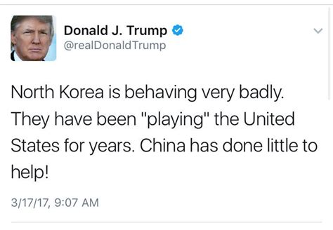 donald trump north korea tweet sarah kendzior on twitter quot here is trump casually