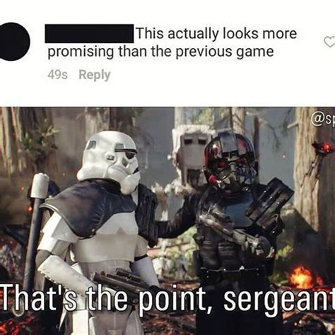 Meme Wars Game - image result for that s the point sergeant star wars pinterest search star and starwars
