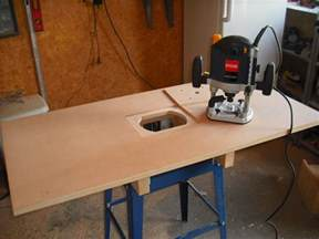new router table building the fence router table