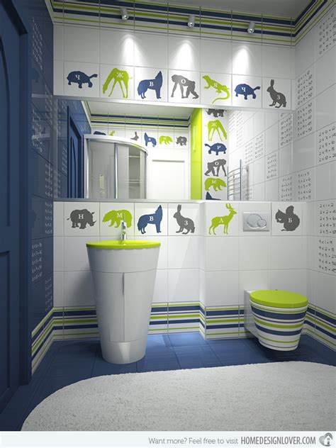 uni kids bathroom ideas 18 colorful and whimsical kid s bathroom home design lover