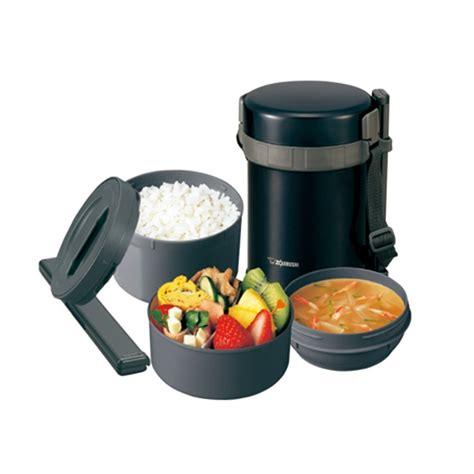 Zojirushi Lunch Jar Sl Gg18 Bd zojirushi stainless steel lunch jar 1 27l sl gg18 bd black