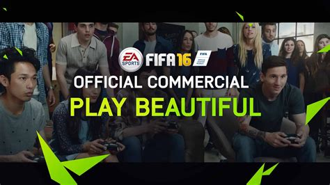 beautiful official fifa 16 play beautiful official tv commercial