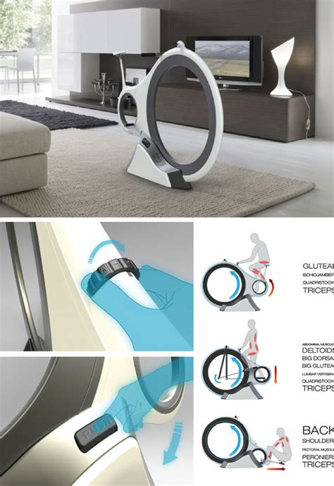 top 5 home fitness equipment desings concepts
