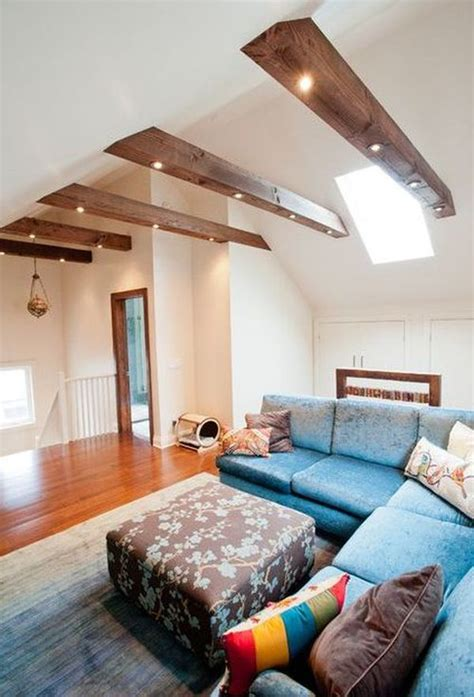 Decorating Ideas For Mobile Home Living Rooms by Living Rooms With Beams That Will Inspire
