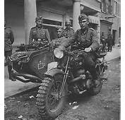 GERMANY MOTOCYCLE WITH SIDECAR WW2  Motorcycle Pinterest